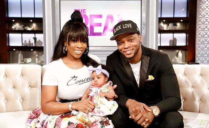 Remy and Papoose with their daughter